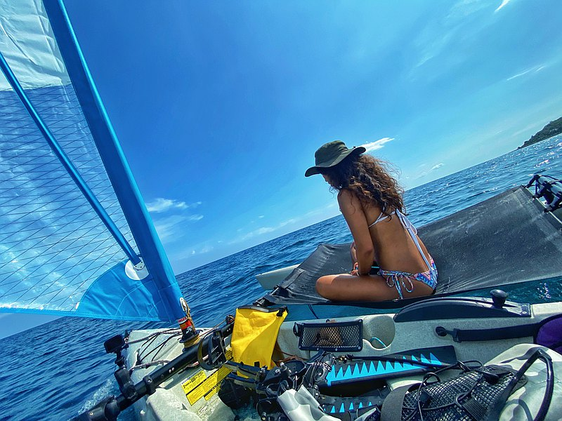 奇幻漂流之旅-小琉球風帆獨木舟體驗