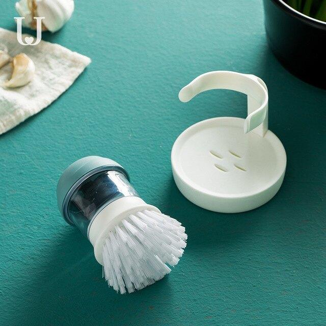 家用自動加液洗鍋刷廚房清潔除垢油污神器刷鍋洗碗去污工具不傷鍋