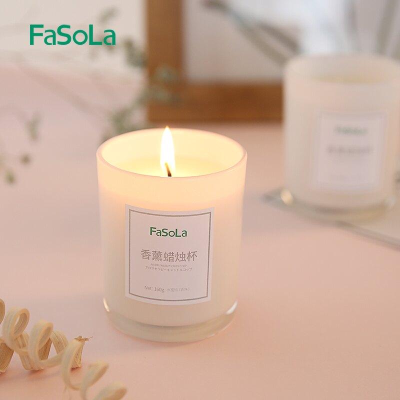 家用臥室睡眠diy植物香薰香蠟燭杯凈化空氣精油香氛禮盒