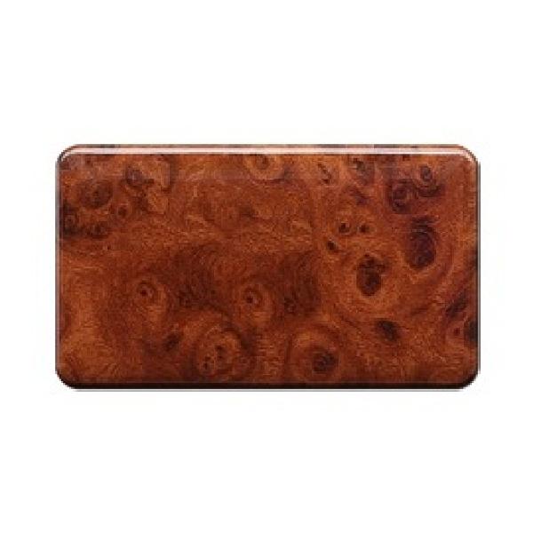 【朝日電工】 LS-3700H 胡桃木紋藝術蓋板(無孔) 3入