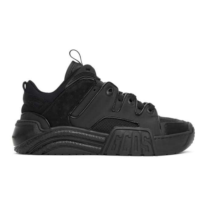 GCDS 黑色 Slim Skate 运动鞋