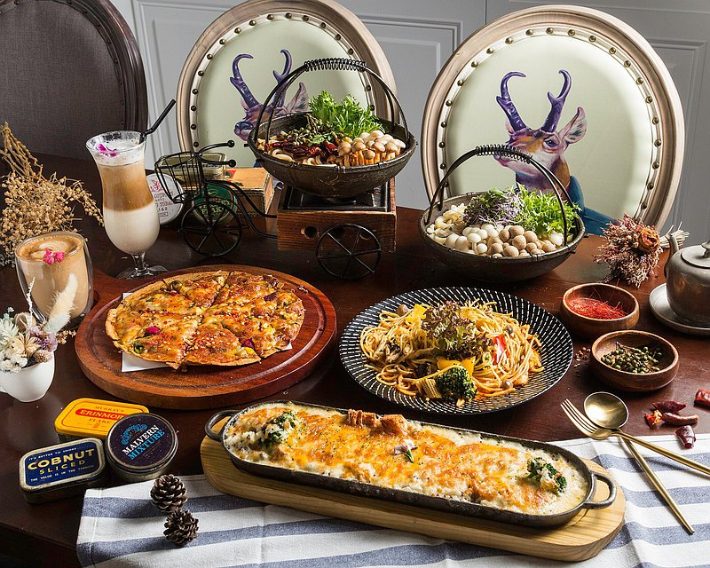 【Pinkoi 獨家】梳子個人蔬食 520 套餐【九折】