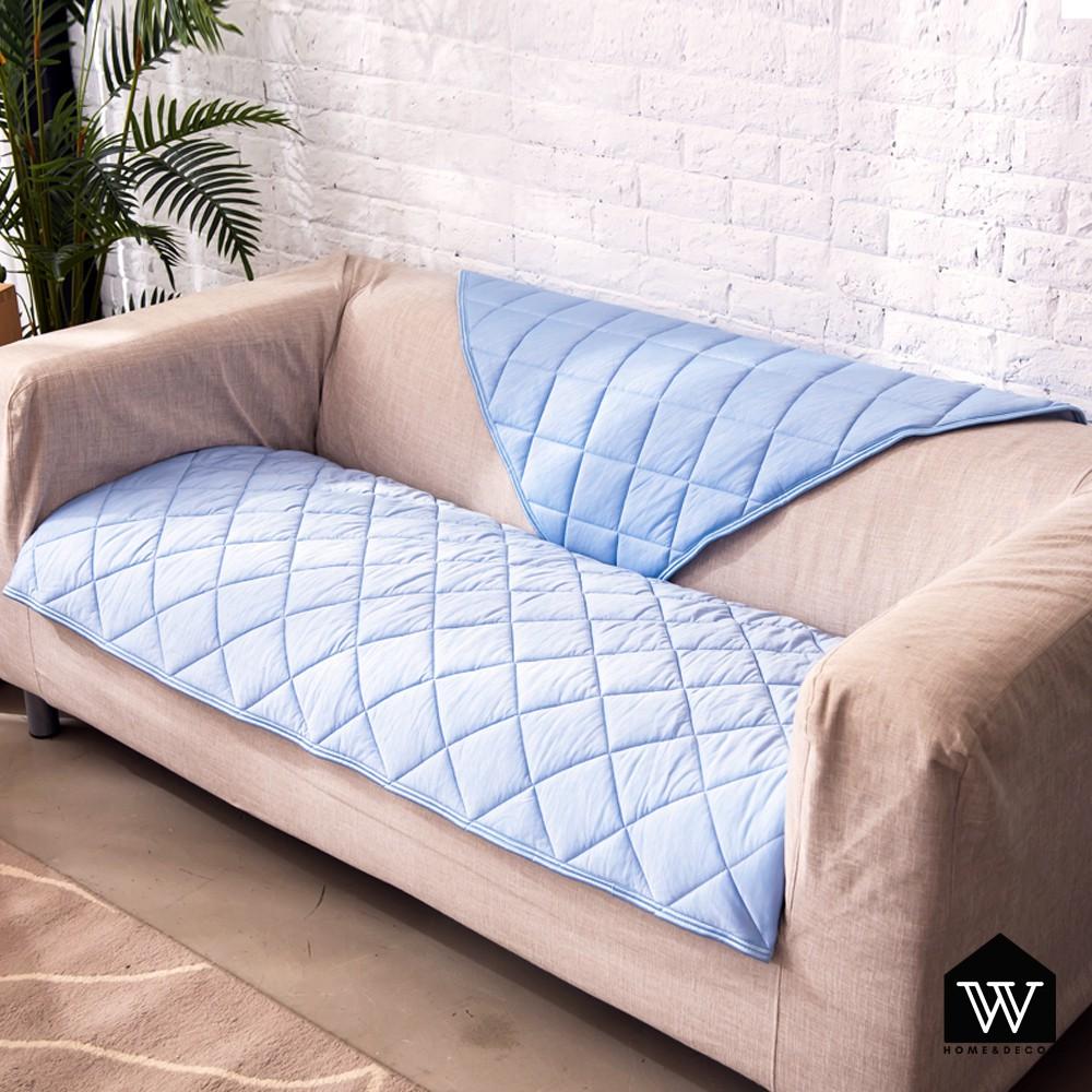 【好物良品】日本冷感沙發墊透氣防滑可機洗沙發蓋巾沙發布罩 |冷感黑科技 兩色可選