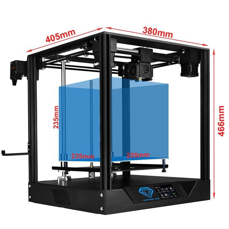 3D列印機 創想三維  3D打印機 3D列印 倆棵樹 藍寶石Pro 3d打印機COREXY 高精度