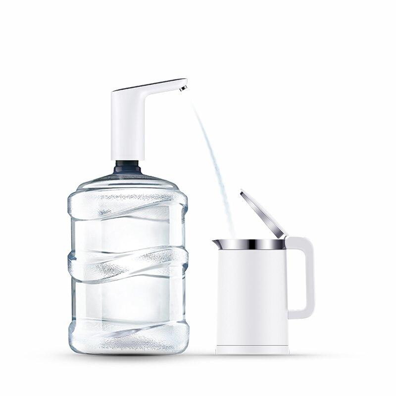 家用無線充電電動桶裝水抽水飲水機桌面式自動雙泵純凈水桶壓水器