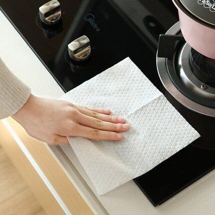 干濕兩用懶人一次性抽取式無紡布抹布  家用廚房家務清潔洗碗麻布