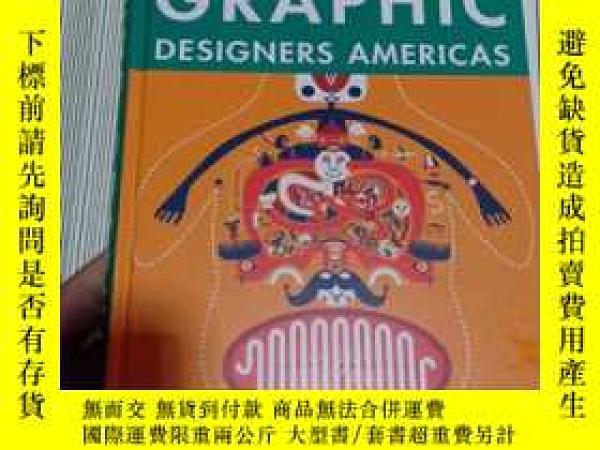 二手書博民逛書店罕見YoungGraphicDesignersAmericans美國青年平面設計師Y269417 Daab