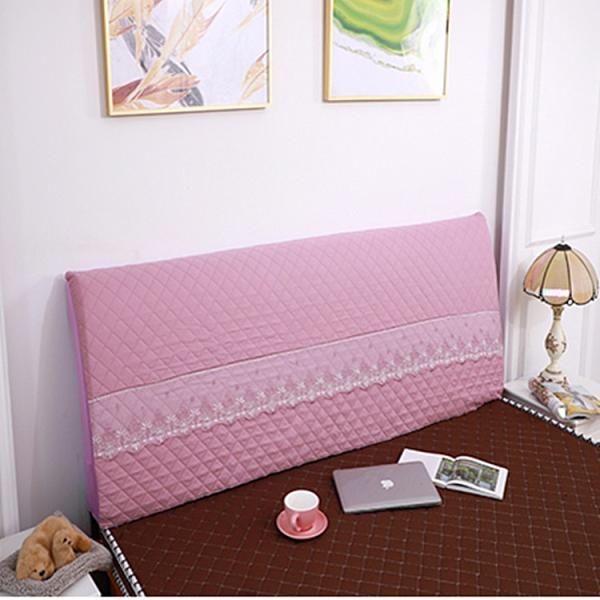 全包床頭罩加厚夾棉木板床頭套1.5米床頭靠背防塵罩【英賽德3C數碼館】