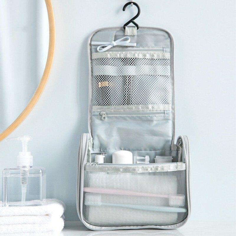 商務出差出門旅行便攜時尚簡約可掛式防水洗漱包男女懶人大容量袋