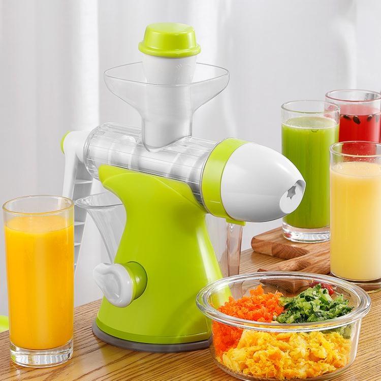 手動榨汁機小型家用壓汁器擠檸檬柳丁水果汁手搖原汁擠壓 交換禮物