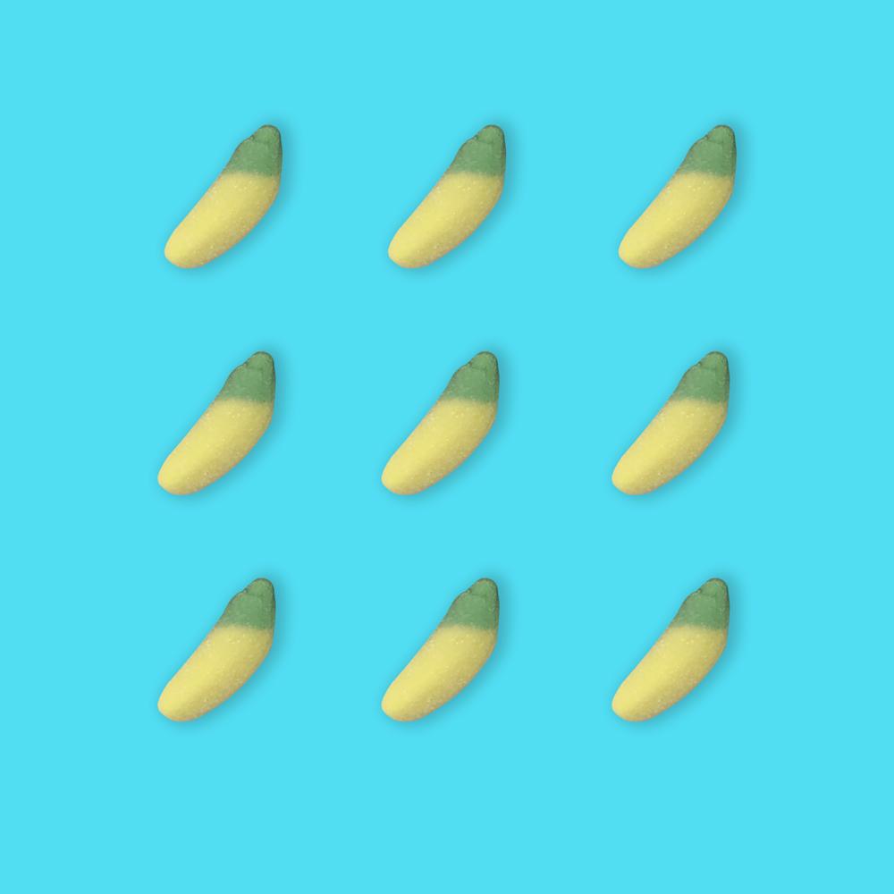 芭娜娜 香蕉 500公克1包 汽水系列 軟糖系列 水果口味 捷克進口嘴甜甜