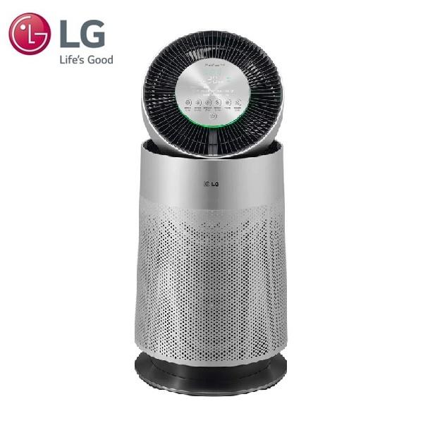 【LG 樂金】LG PuriCare 360°空氣清淨機 AS651DSS0(單層-銀色)