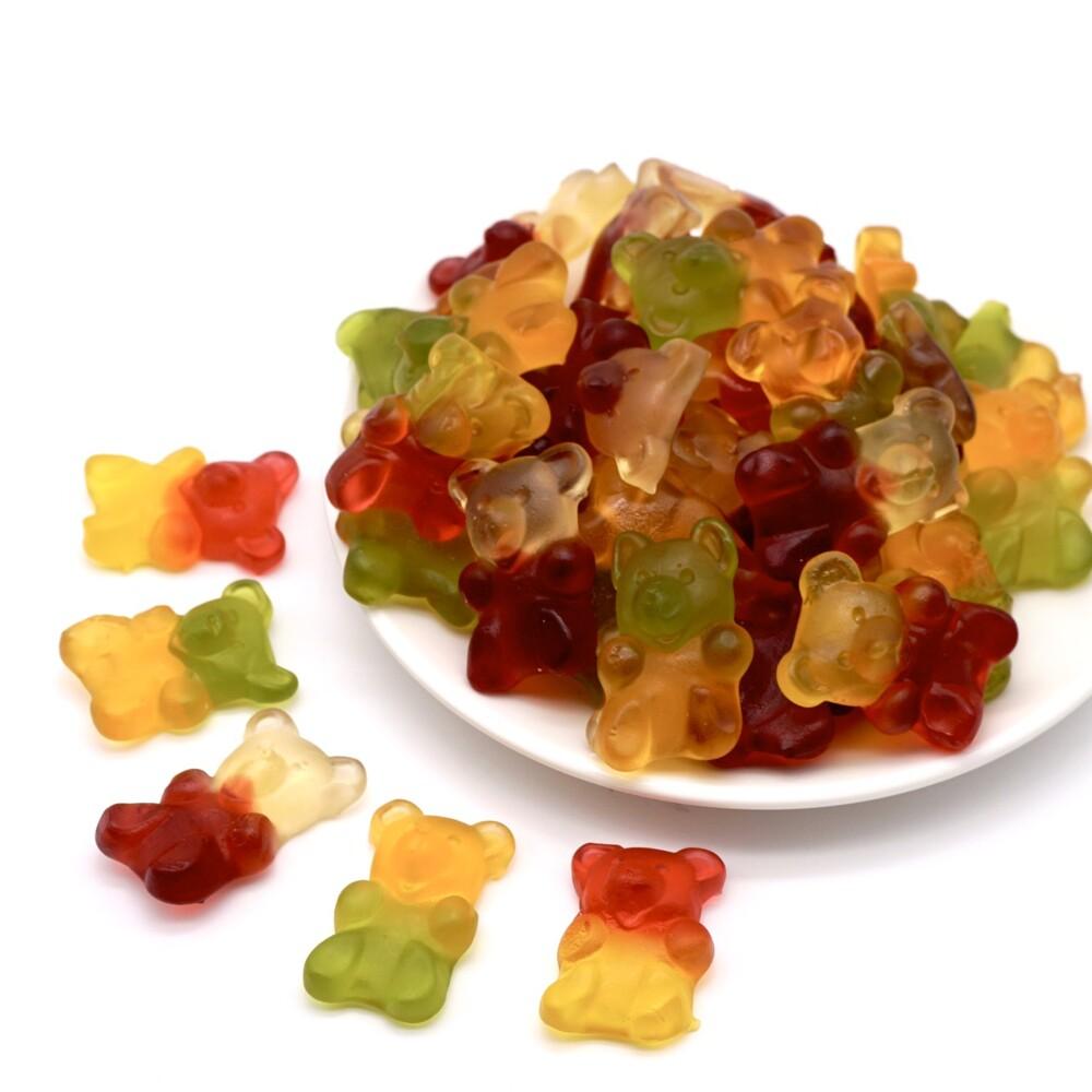 大熊軟糖 500公克1包 綜合水果 小熊軟糖 軟糖系列 水果口味嘴甜甜