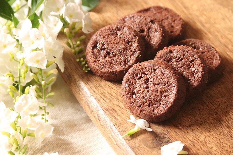 鹽之花巧克力餅乾
