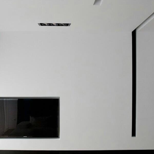 18park-黑盒子崁燈-9.5cm/3款 [三燈-7w,6000k]