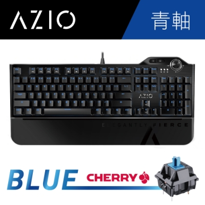 AZIO L80 MAX 青軸機械式電競鍵盤