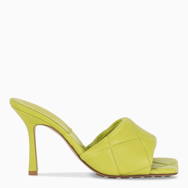 Bottega Veneta Kiwi BV Rubber Lido sandals
