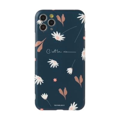 【TOYSELECT】iPhone 12 Pro Max 幽謐雛菊Dark Daisy抗污手機殼