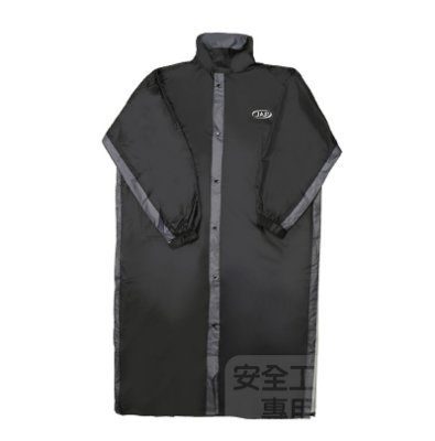 《JAP》YW-R311 黑灰 一件式雨衣 透氣超輕量羽量化 側開雨衣 後背包專用