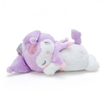 小禮堂 酷洛米 迷你可加熱絨毛玩偶娃娃《白紫》熱敷袋.暖暖袋