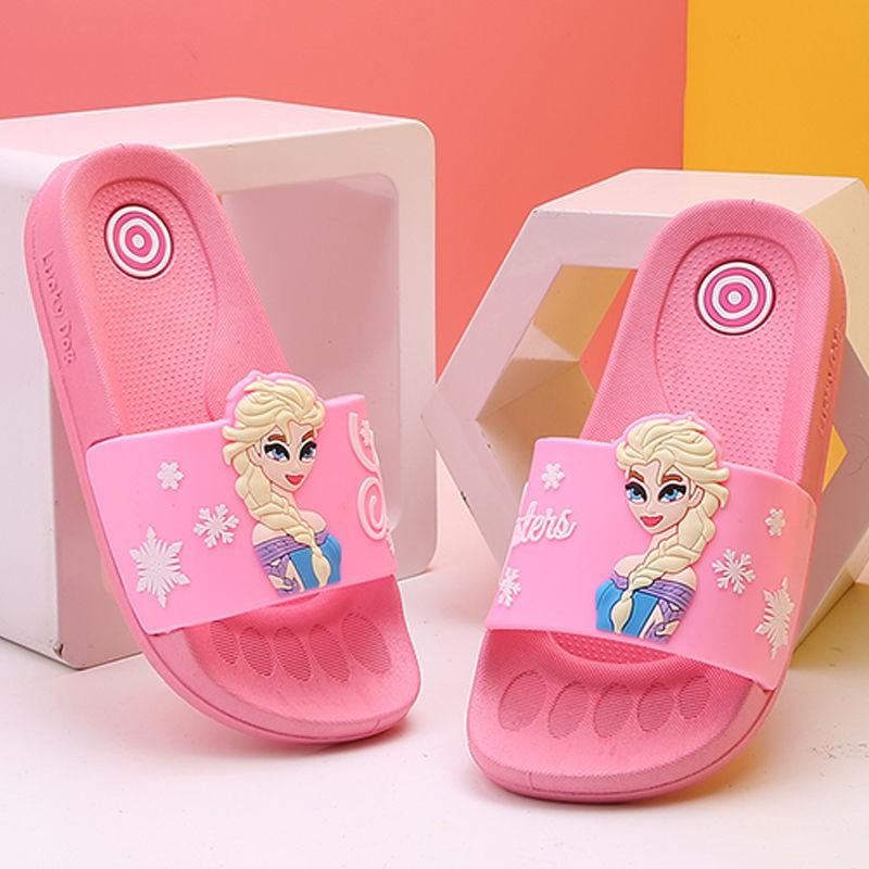 男孩涼鞋, 女童拖鞋, 防滑軟底, 外穿, 室內房屋