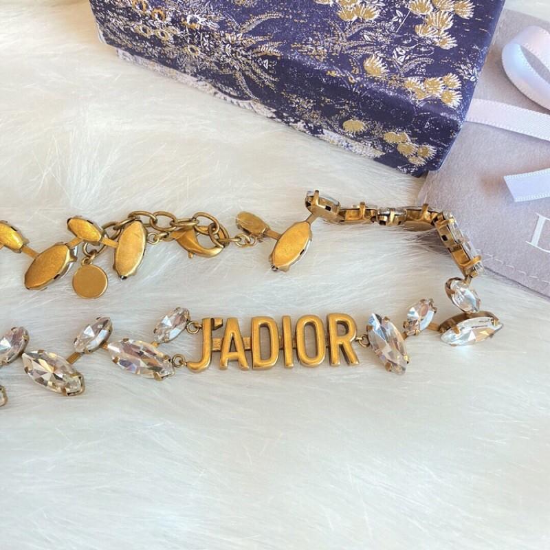Dior 迪奧 新款麥穗JA項鍊 經典字母 復古 時尚大方