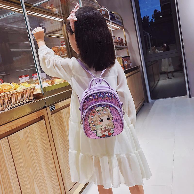 YOSO【现货热销】韓版可愛兒童包包時尚公主斜挎包小女孩雙肩背包女童手提包零錢包