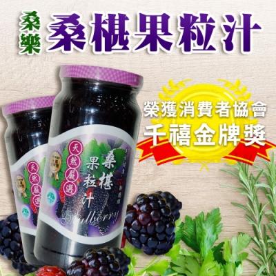 【桑樂】桑樂-桑椹果粒汁(600gx2瓶)