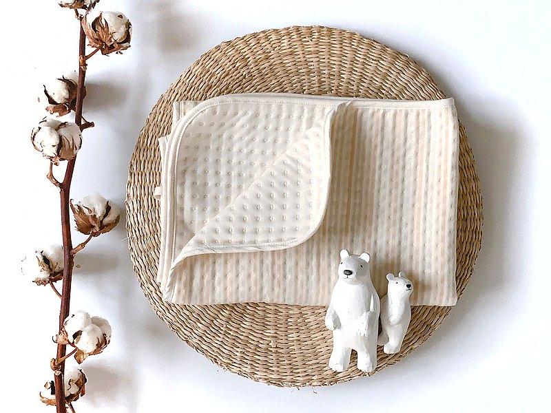 有機彩棉 空氣棉 手作暖暖萬用小被被