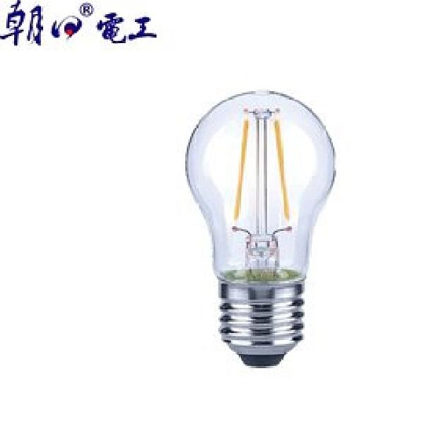 【Luxtek】 G45-2W 2W球型LED燈絲燈泡E27(白光)