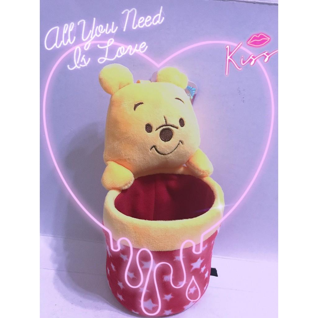 筑筑大百貨madge0521 維尼熊 桌上置物桶 星星款 迪士尼 小熊維尼 娃娃 pooh 維尼熊娃娃 Winnie Q