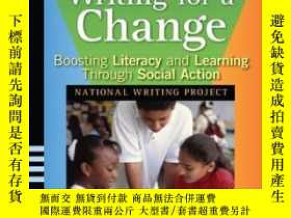 二手書博民逛書店Writing罕見For A Change: Boosting Literacy And Learning Thr