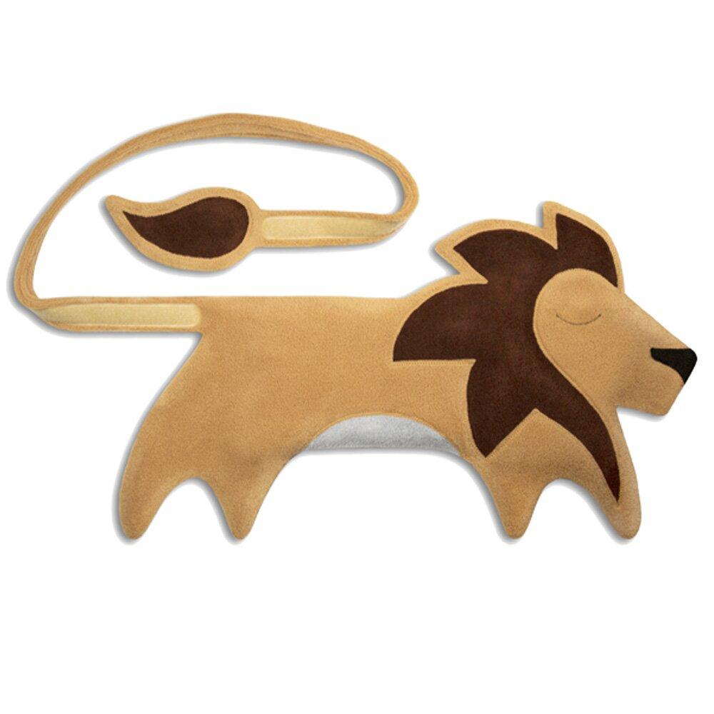 德國萊思綺(Leschi)後背暖腰帶- 獅子造型(膚黃色)