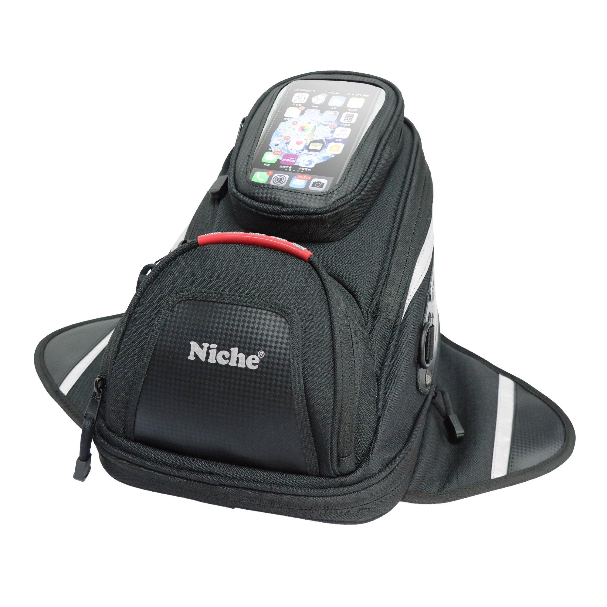 【NMO-2216】Niche 重機車迷你油箱袋 蝶形油箱包 油箱袋 騎士包 肩背包 手提包
