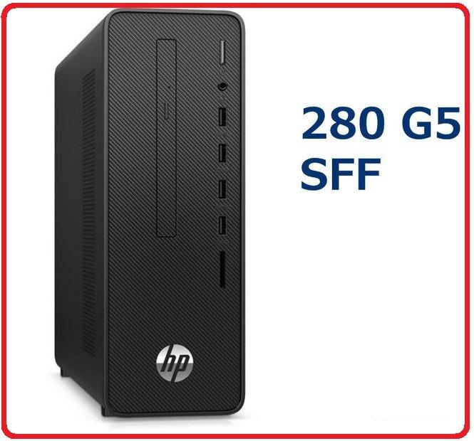 HP HP 280 G5 SFF 2Q4L7PA電腦主機 280G5/i3-10100/8GB*1/1TB/NODVD/180W/Win10 Pro