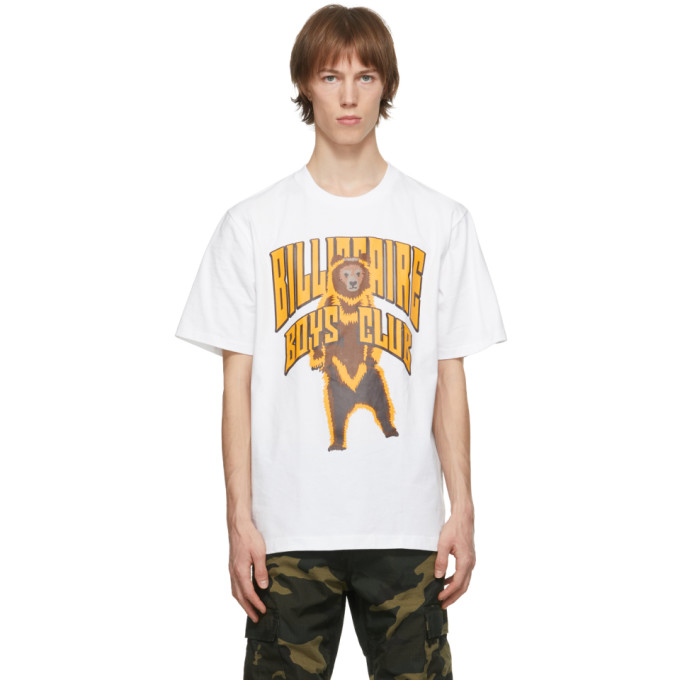 Billionaire Boys Club 白色 Standing Bear Logo T 恤