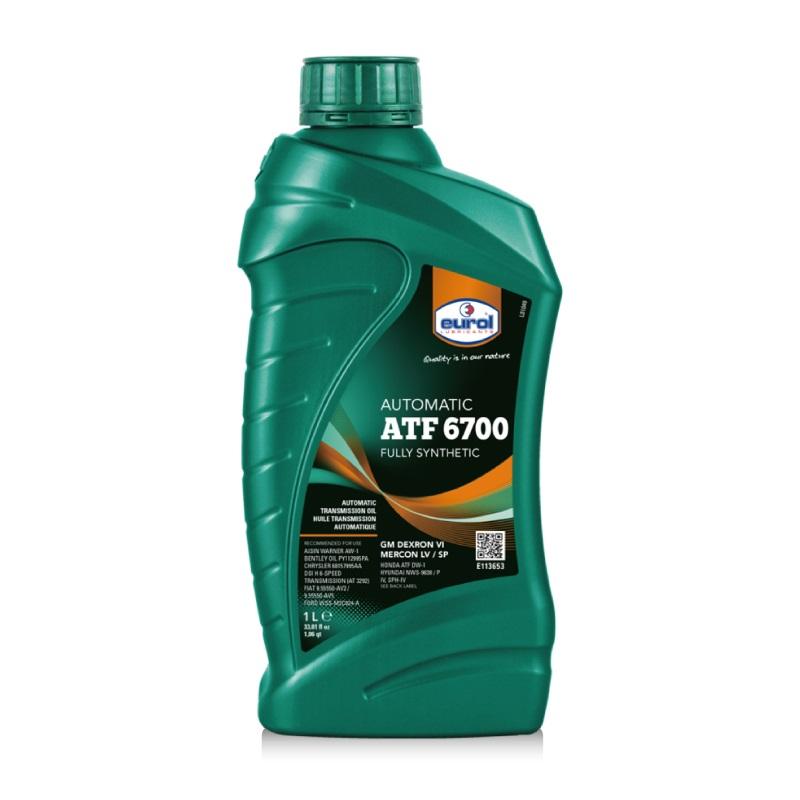 EUROL 曜樂全合成自動變速箱油 6700(12瓶/箱)