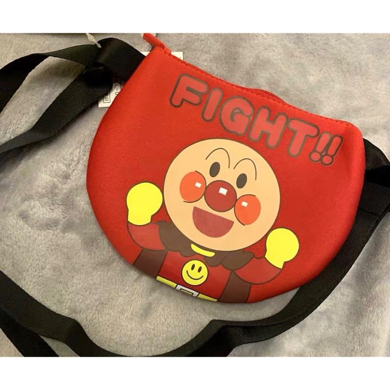 ✅現貨 ✅-日本製 麵包超人半圓側背包#麵包超人#側背包#兒童包包