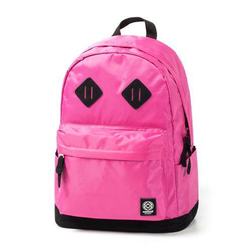 搬家出清 全新WESTMILL 經典百搭素色後背包-深粉紅
