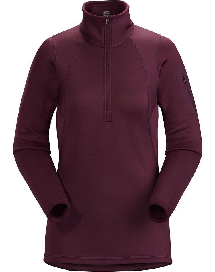 Arcteryx 始祖鳥 Rho AR 女款彈性刷毛衣/Power Stretch保暖上衣 11273 狂想紫紅Rhapsody