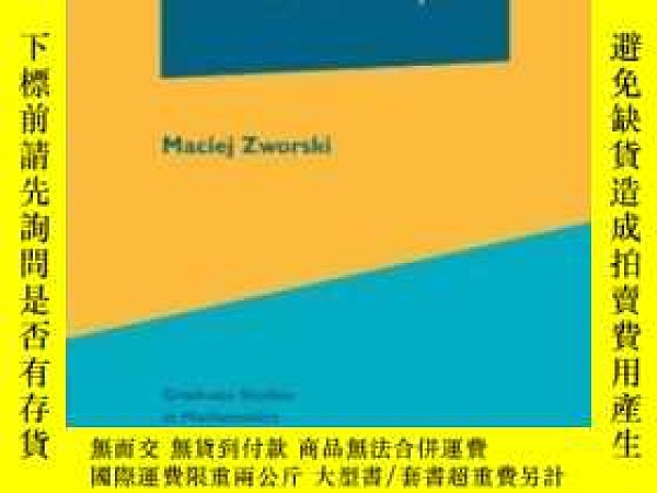 二手書博民逛書店Semiclassical罕見Analysis-半經典分析Y436638 Maciej Zworski Ame