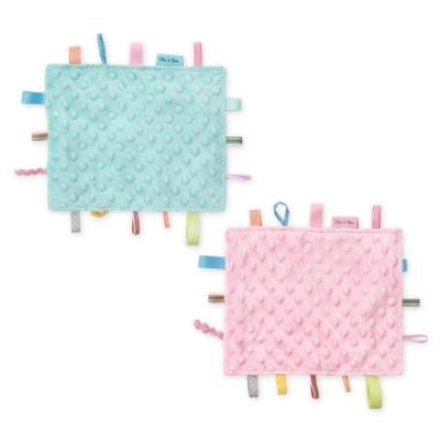 奇哥 豆趣標籤響紙安撫巾 20x24cm (2色選擇)