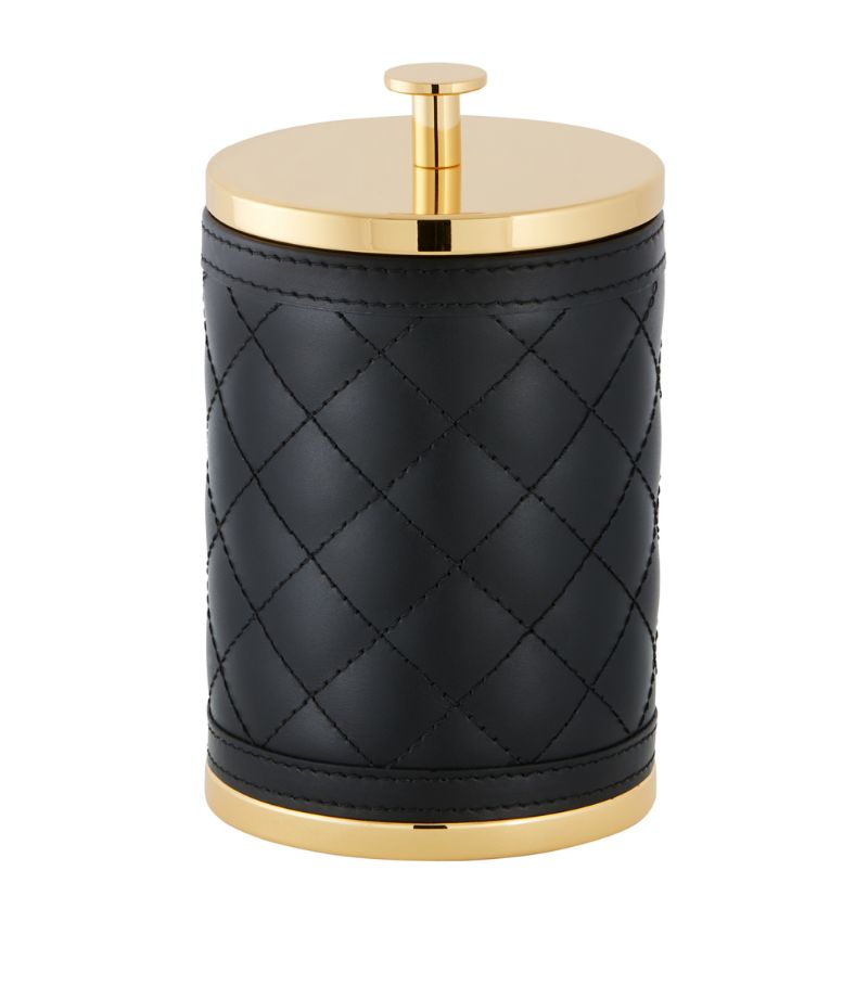 Riviere Quilted Large Round Storage Box