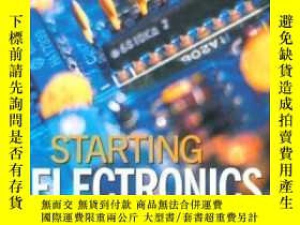 二手書博民逛書店Starting罕見Electronics Second Edition-啟動電子第二版Y436638 Kei