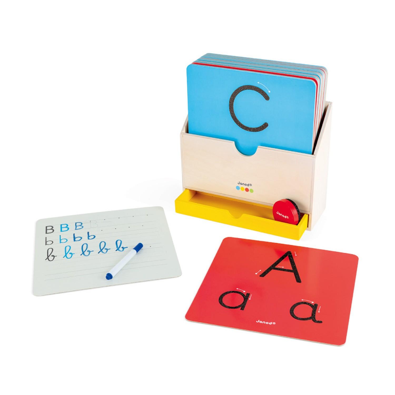 Janod - 小小STEAM系列-字母書寫板