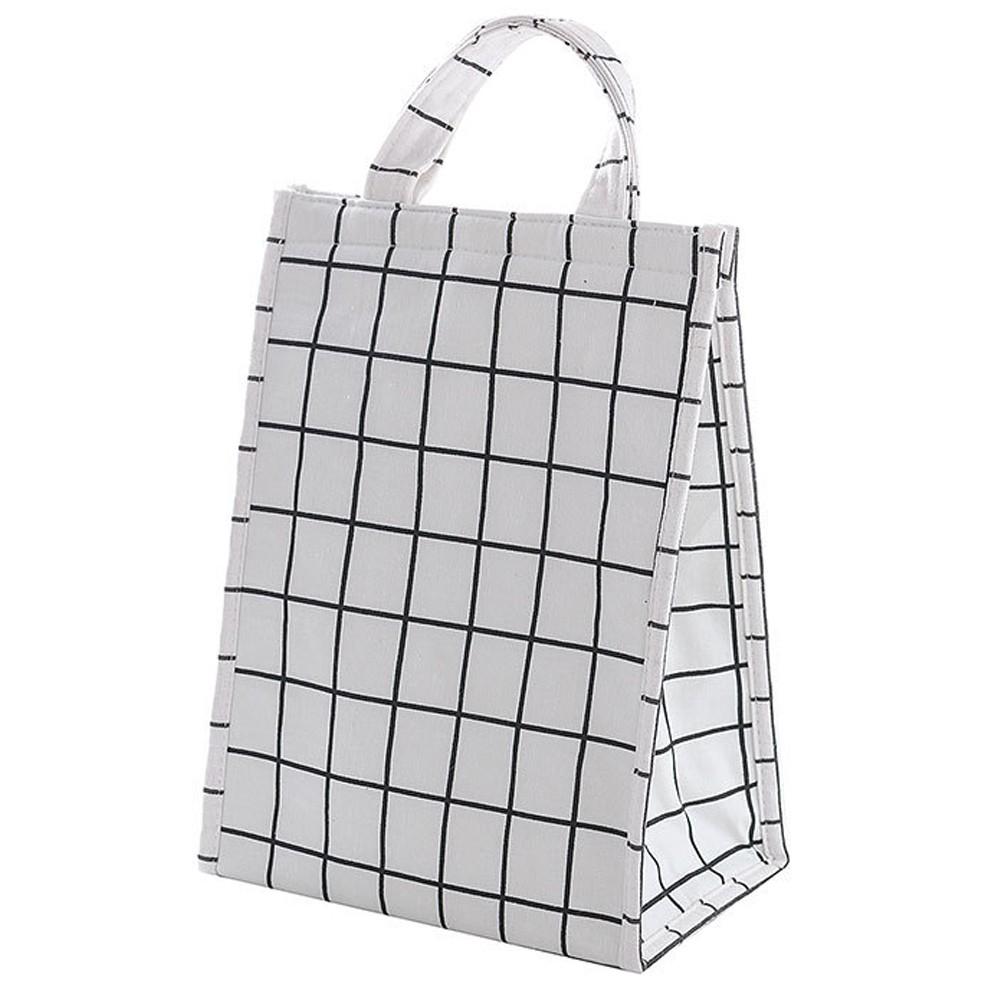 加長版現代簡約手提保溫袋/保冷袋/便當袋/野餐袋