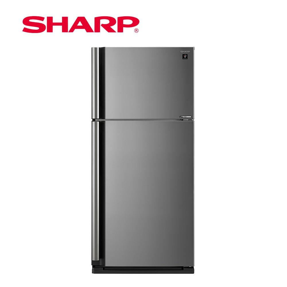 SHARP夏普 541L 自動除菌離子變頻雙門電冰箱SJ-SD54V-SL