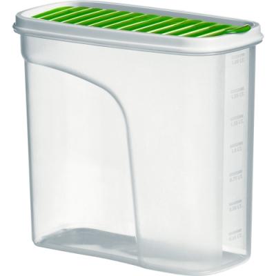 《Premier》刻度保鮮盒(綠1.8L)