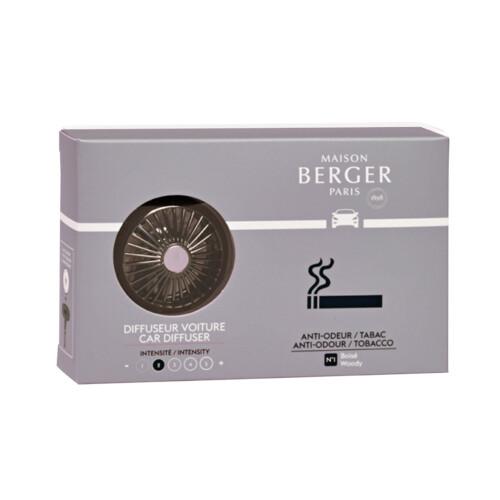 煙草淨味冷冽木香 柏格berger車用香氛套組