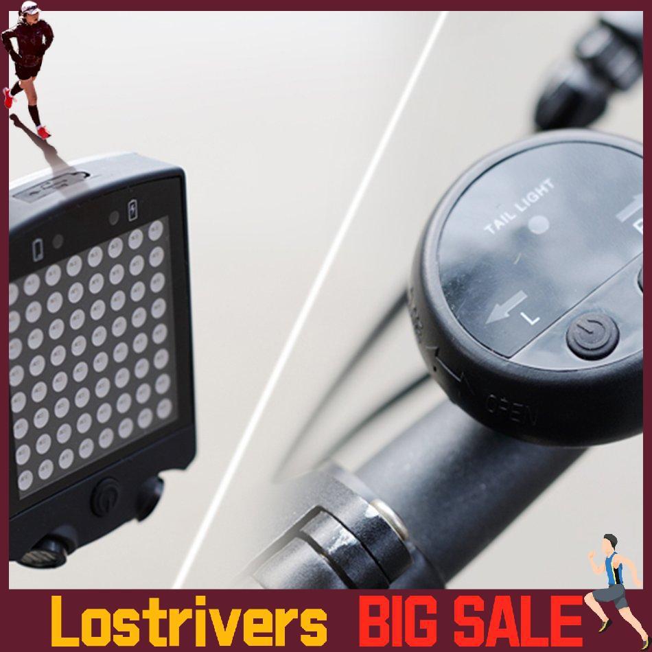 Lr * Availablebicycle 轉向信號燈 Led 警告燈山地自行車充電激光尾燈警示led